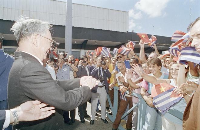 Trong thời gian đương chức, Chủ tịch nước Lê Đức Anh có chuyến thăm hữu nghị chính thức nước Cộng hòa Cuba (12-17/10/1995) với sự chào đón nồng nhiệt của người dân thủ đô La Habana.