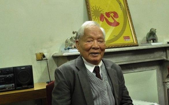 Đại tướngLê Đức Anhtại phòng khách trong căn hộ công vụ giản dị tại Hà Nội - Ảnh: Tư liệu
